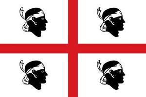 Bandiera dei 4 mori